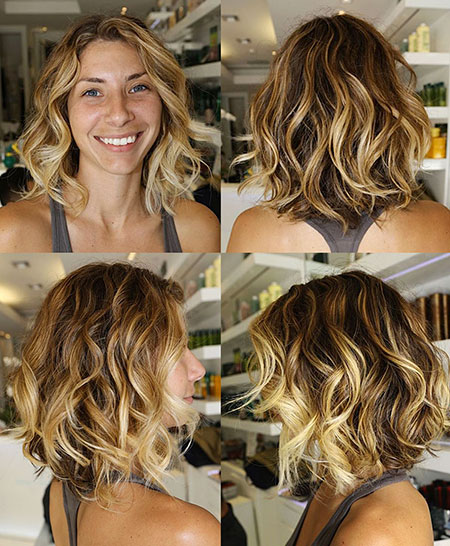 Loose Curls Hairstyles for Short Hair