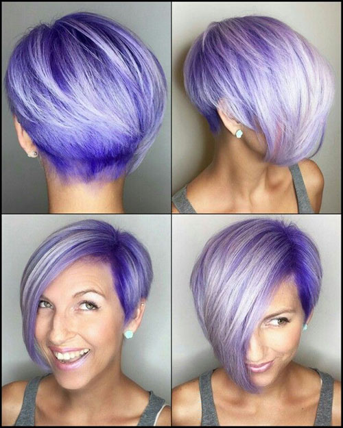 Best Hair Color For Pixie Haircut