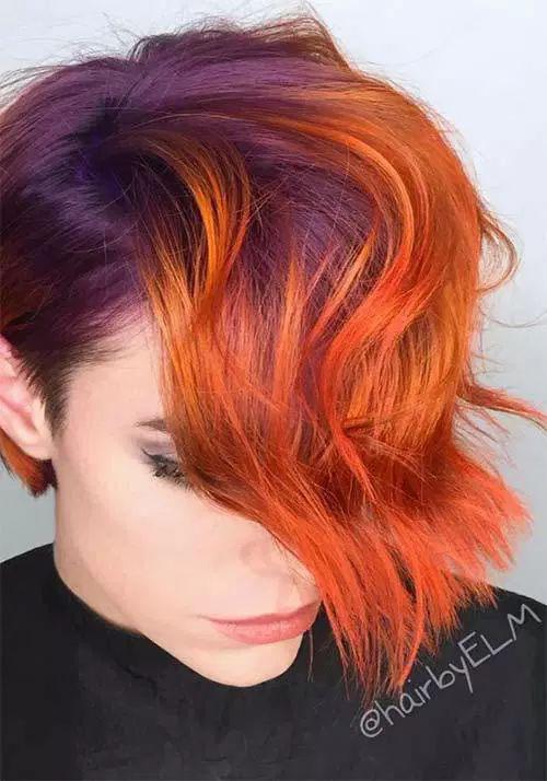 Pixie Hair Color