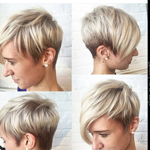 Short Hair Pictures Front And Back