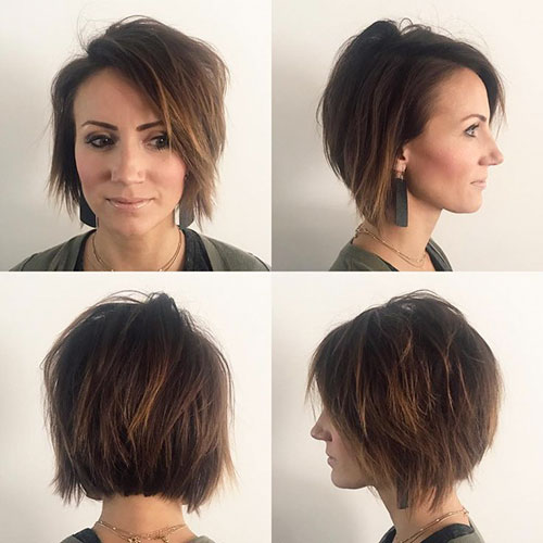 Short Hairstyles Front And Back