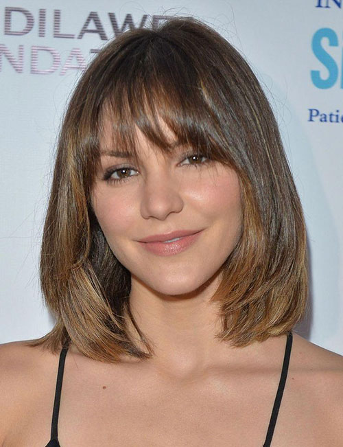 Bob Style With Bangs