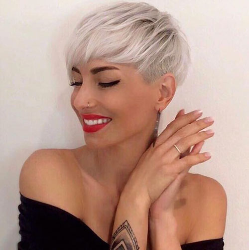 Short Cropped Hairstyles