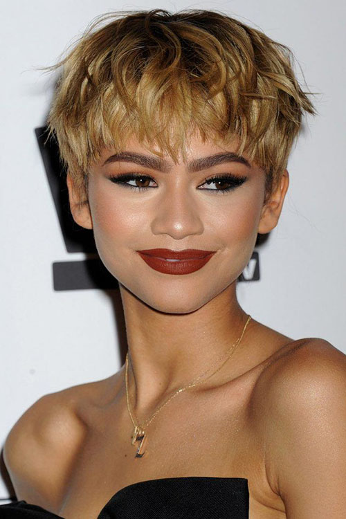 Short Cropped Hair Pictures