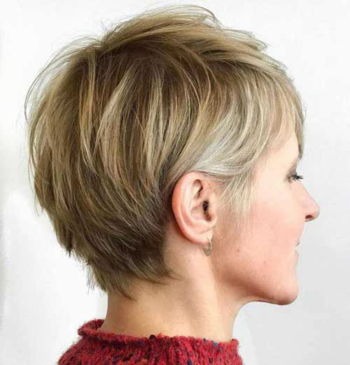 Short Cuts For Fine Straight Hair