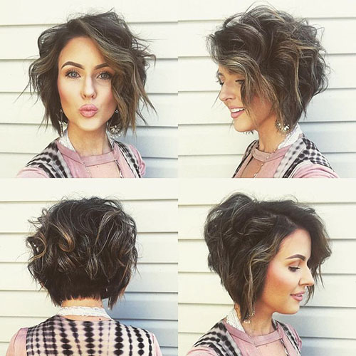Short Haircuts Front And Back
