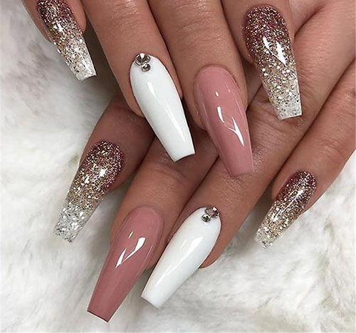 Cute Coffin Nails