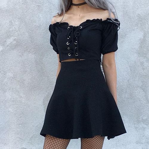 Cute Goth Outfits