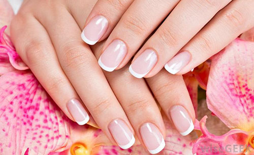 Pictures Of American Manicure Nails