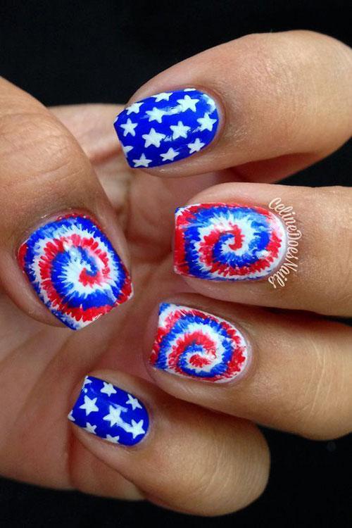 July Nail Art