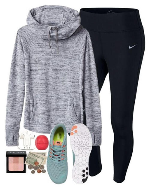 Cute Gym Outfits Women