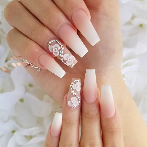 Dried Flowers In Nails