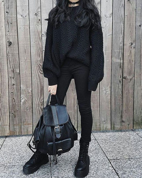 Black Outfits