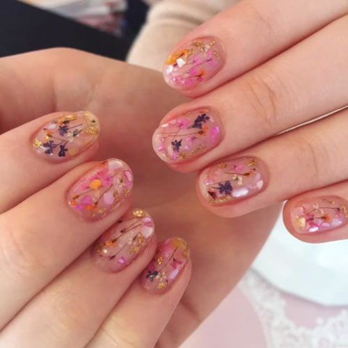 Mini Dried Flowers For Nails