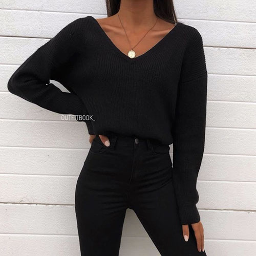 Cool Black Outfits