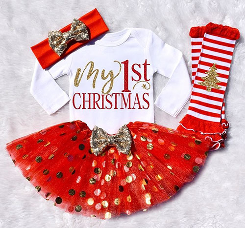 Newest Christmas Outfits For Girls