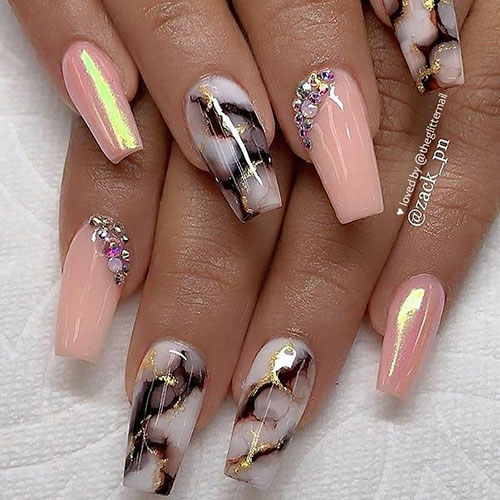 Cute Nails Coffin