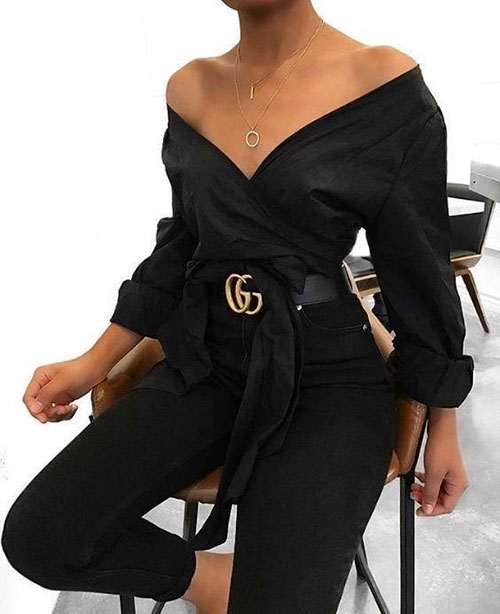 Elegant Black Outfits