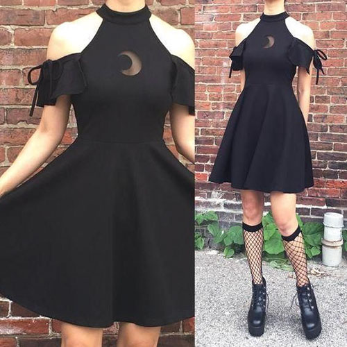 Cute Goth Outfit Ideas