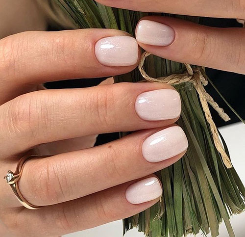 Nails Neutral Colors
