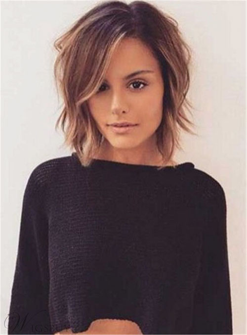 Layered Bob For Thin Hair