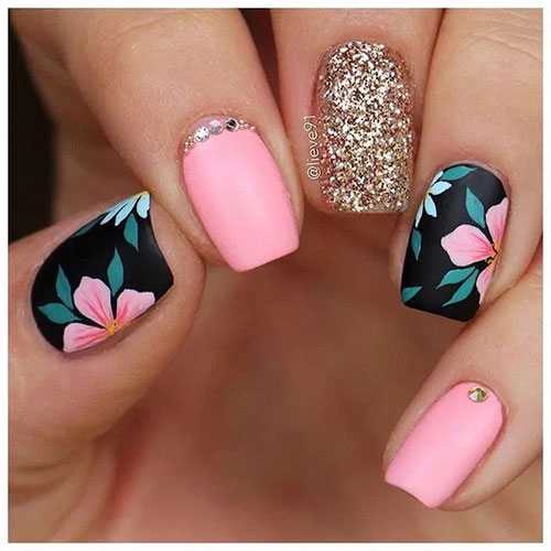End Of Summer Nail Designs