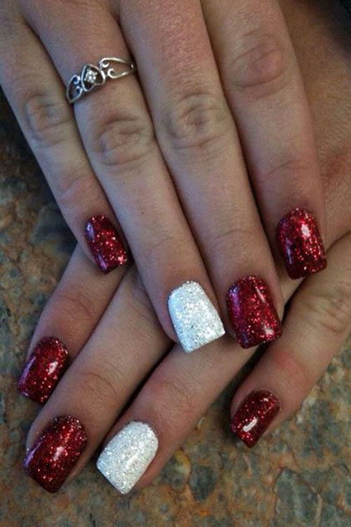 Nail Designs For Thanksgiving And Christmas