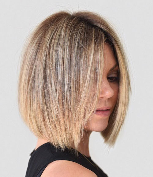 Layered Bob Cuts For Thin Hair