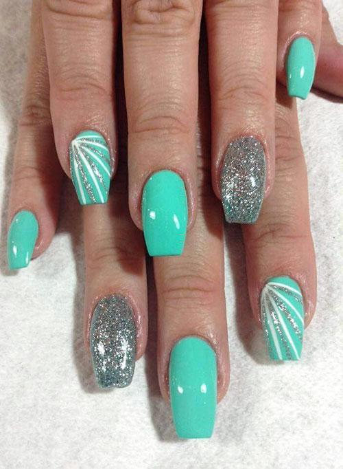 Elegant Summer Nail Designs