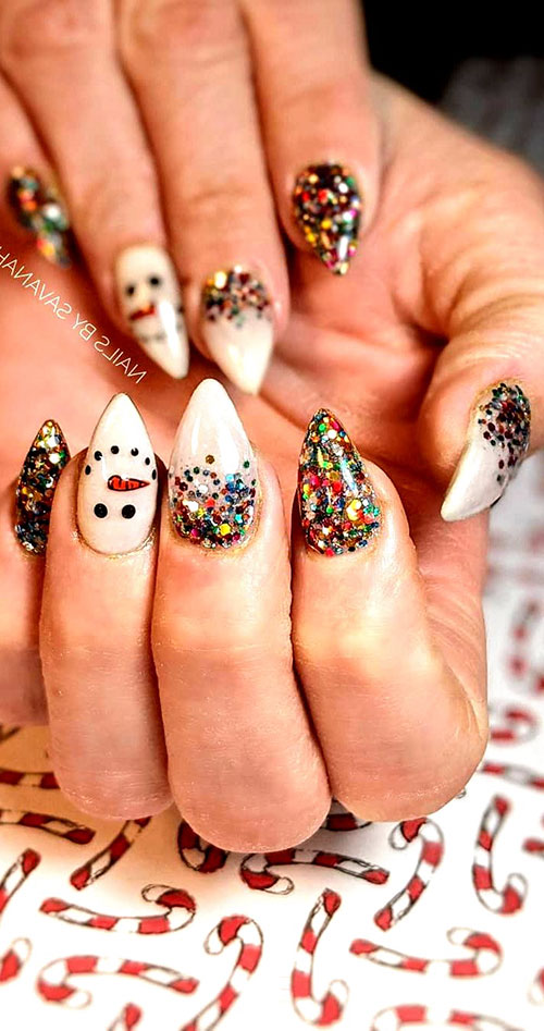Nails With Christmas Designs