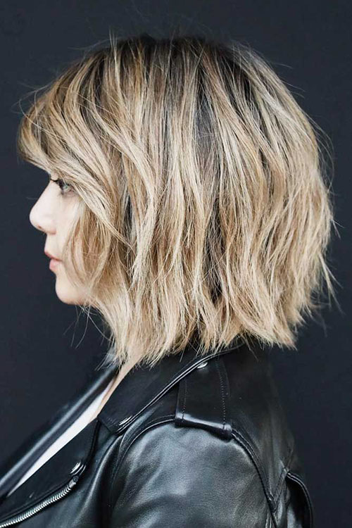 Layered Bob Hairstyles For Thin Hair